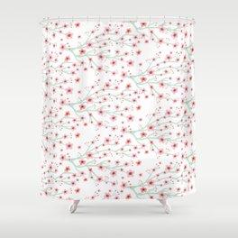 Blooming Sakura Shower Curtain