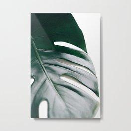 Better Half - Monstera Leaf Metal Print