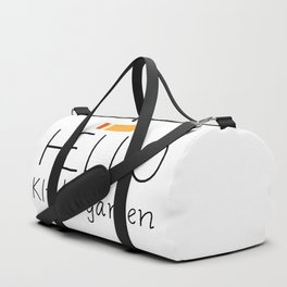 Hello Kindergarten Duffle Bag