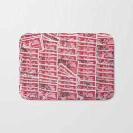 Stamps Texture #2 Bath Mat