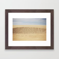 Dramatic Sand Dunes 2 Framed Art Print