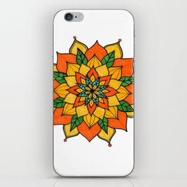 Mandala nauturaleza iPhone Skin