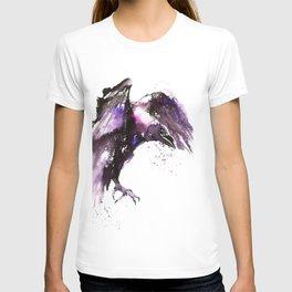 Flying raven T-shirt