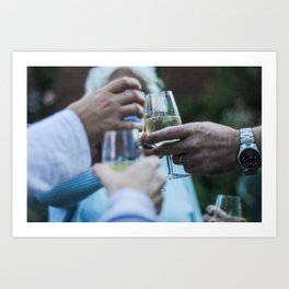 """cheers"" Art Print"