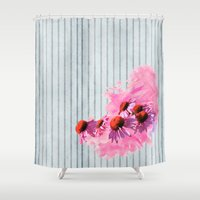 kerouac Shower Curtains featuring Forgiveness by anipani