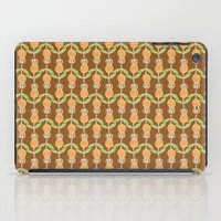 70s iPad Cases featuring 70s Flowers by Apple Kaur