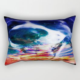 smiling spirit Rectangular Pillow