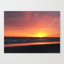 Florida Sunset Canvas Print