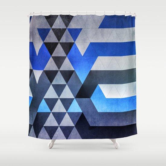 kyr dyyth Shower Curtain