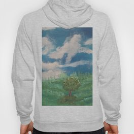 Cloudy day in the prairies Hoody