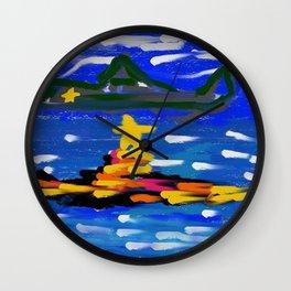 Recon Wall Clock