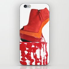 Dripping Red Shoe iPhone & iPod Skin
