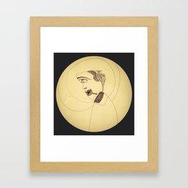 Monastic Silence Framed Art Print