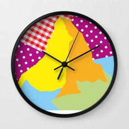 Matterhorn colorpower Wall Clock