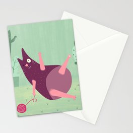 Gato piñulo Stationery Cards