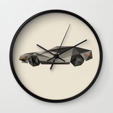 D-LOREAN Wall Clock