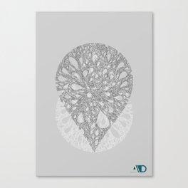 A drop of creativity 1 Canvas Print