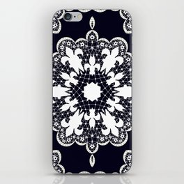 White lace iPhone Skin