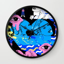 Wallflower  Wall Clock