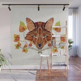 fox autumn Wall Mural