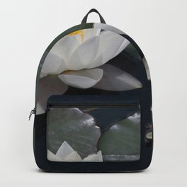 Two Water Lilies Backpack