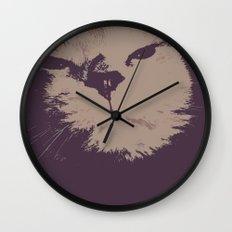 Renegade Cat Wall Clock