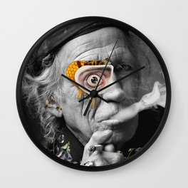 Keef HoneyComb Wall Clock