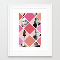 lydia martin Framed Art Prints featuring Lydia Martin - Teen Wolf by lena e
