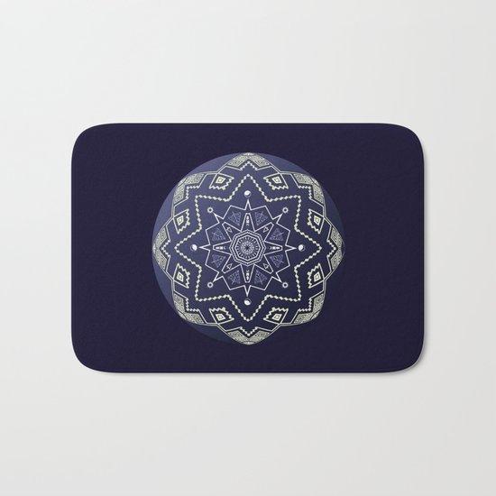 Wedgewood Sphere Mandala Bath Mat