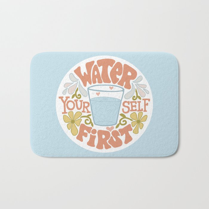 Water Yourself First Bath Mat