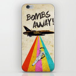 Bombs away! iPhone Skin