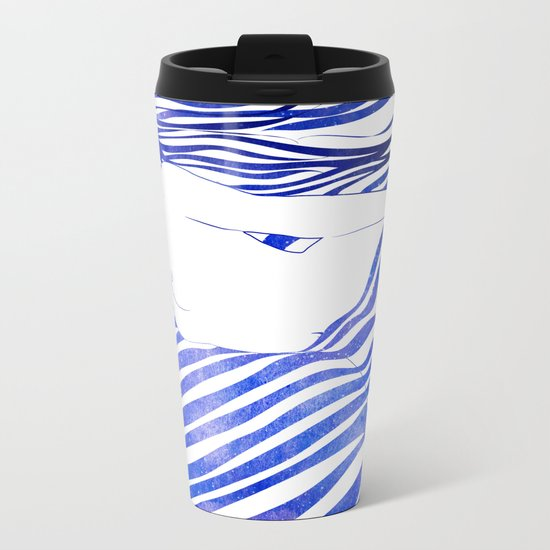 Water Nymph XIV Metal Travel Mug