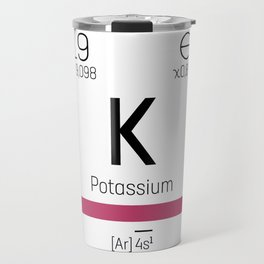 Potassium - chemical Travel Mug