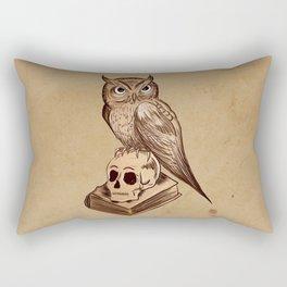 Wise Old Owl Rectangular Pillow