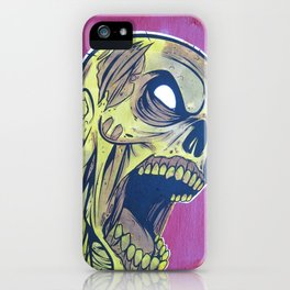 Zombie Attack! iPhone Case