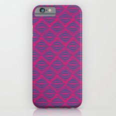 Warp Field (Pink & Blue) iPhone 6s Slim Case
