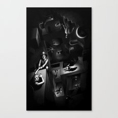 Impossible Chase Canvas Print