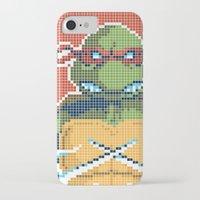 teenage mutant ninja turtles iPhone & iPod Cases featuring Teenage Mutant Ninja Turtles - Raphael by James Brunner