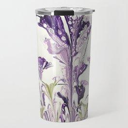 Lilac flower Travel Mug