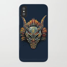 Killmonger Tribal Mask iPhone Case