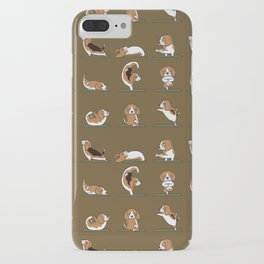 Beagle Yoga iPhone Case