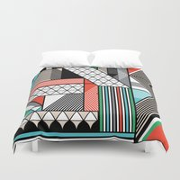 f1 Duvet Covers featuring yas by Gray