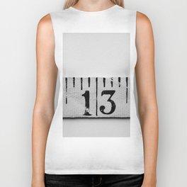 number 13 Biker Tank