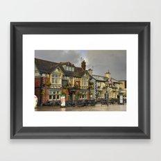 Poole Pubs Framed Art Print