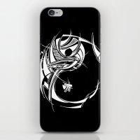 yin yang iPhone & iPod Skins featuring Yin Yang by David T Eagles