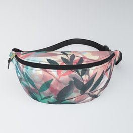 Changes Coral Fanny Pack