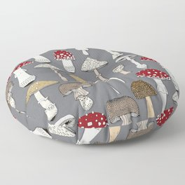 mushrooms iron Floor Pillow