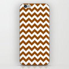 Chevron (Brown/White) iPhone & iPod Skin