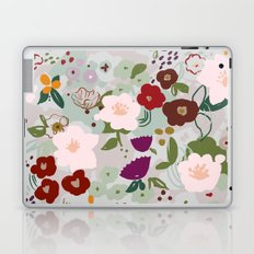 Rainy Day Floral Laptop & iPad Skin