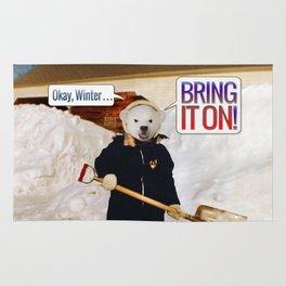 Okay, Winter . . . Bring it on! Rug